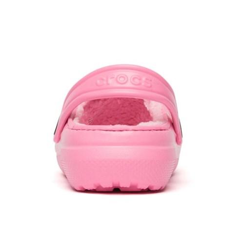 [크록스] 19FW 키즈 클래식 라인드 클로그 핑크 203506-6M3