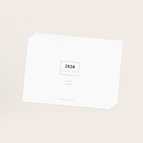 어투모먼츠 2020 먼슬리 패드