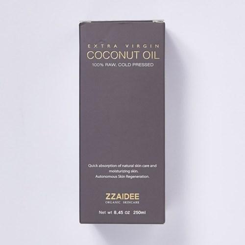 짜이디 엑스트라버진 코코넛오일 250ml For Skin Package