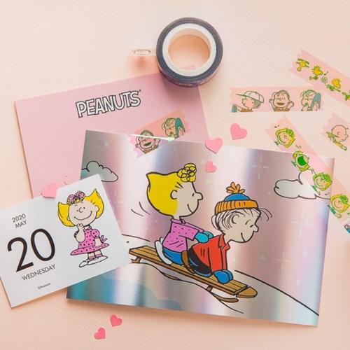 [Peanuts] 홀로그램 테이프_스누피와 친구들(7종)
