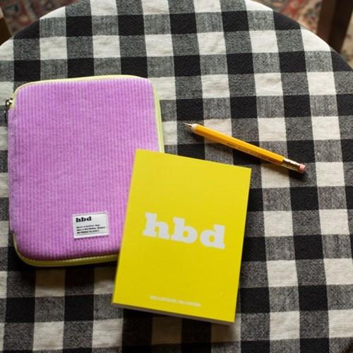 (만년형) 루카랩 HBD 파우치 다이어리