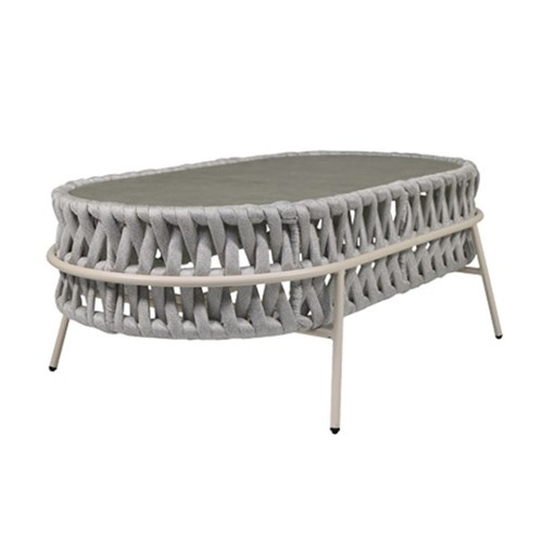 플로렌스테이블 인테리어 디자인 철제 라탄 테이블
