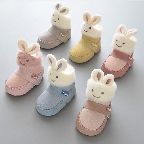 뉴 귀 쫑긋 토끼 유아 양말 보행기화(0-16개월) 203976_(902809520)