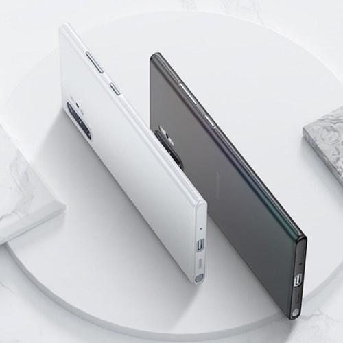 위시비 벤크스 노트10 플러스 슬림스킨 0.4mm 케이스