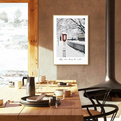 겨울 인테리어 소품 크리스마스 그림 액자 아트 포스터