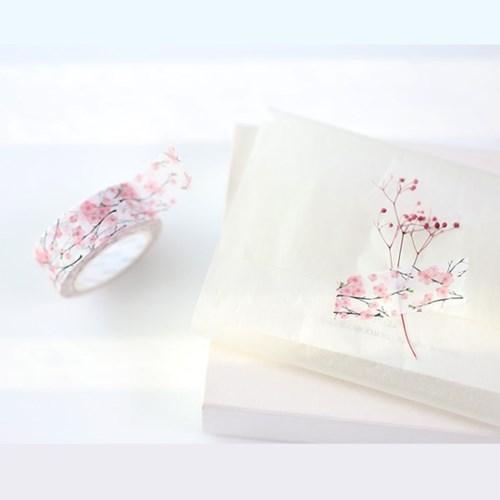 모모마테 제주 벚꽃나무 마스킹테이프_(1630699)