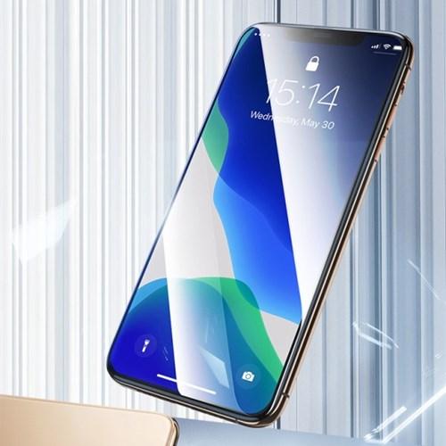 위시비 벤크스 아이폰11 PRO MAX V pro 풀커버 4D 강화유리