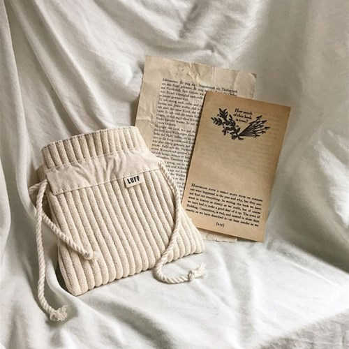 cotton pouch