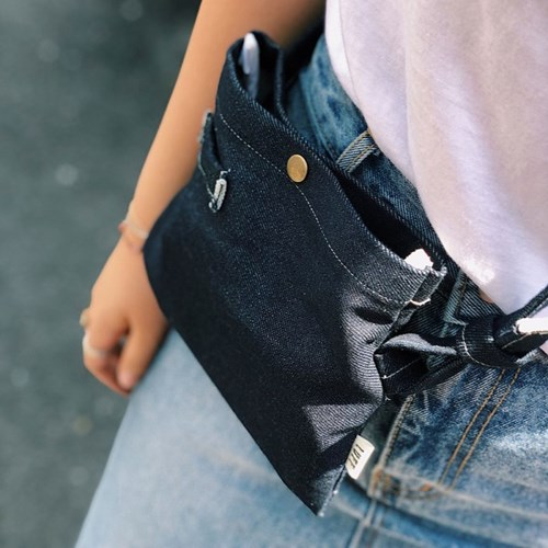denim cross bag