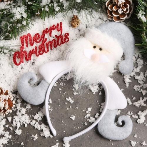 크리스마스 유러피안 머리띠 (산타)