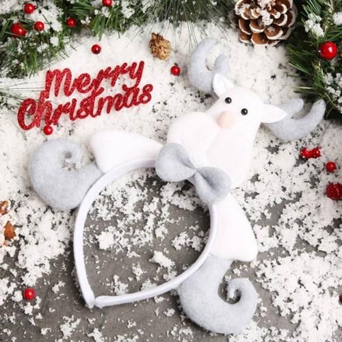 크리스마스 유러피안 머리띠 (루돌프)