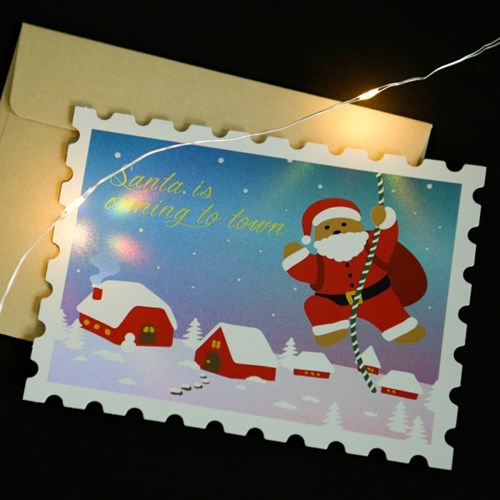 크리스마스 홀로그램 카드 [01-08번]