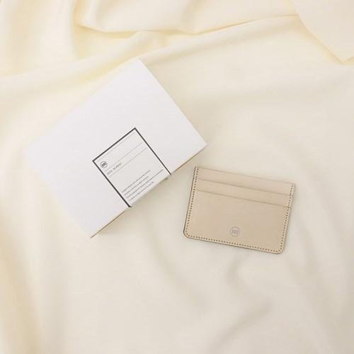 [IDEALMOMENT] 베이직 카드지갑_내츄럴