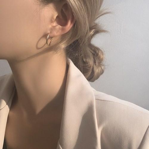셀로 데일리 링 3종 귀걸이