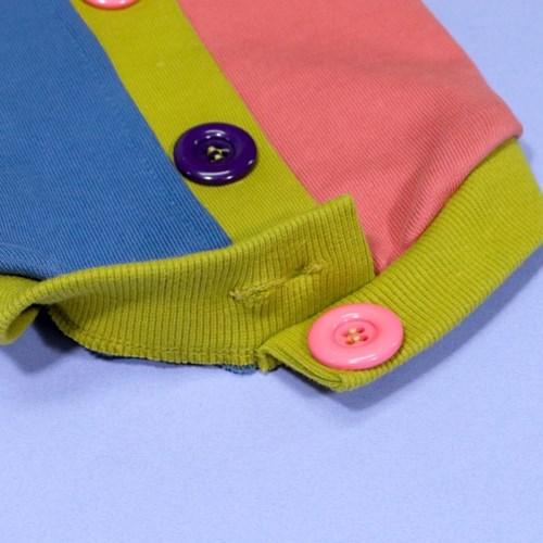 에덴숑-Button sweat shirt(버튼스웻셔츠-올리브)