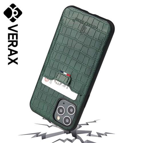 아이폰XS 카드수납 슬림 커버 가죽 케이스 P424_(2293816)