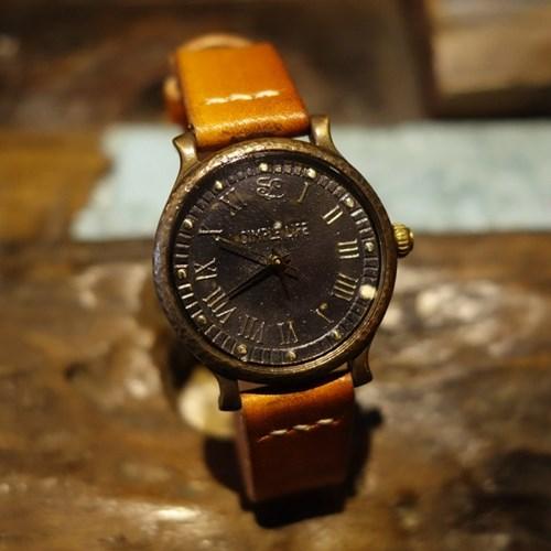 심플라이프 수공예 남여 핸드메이드 손목시계 SL006
