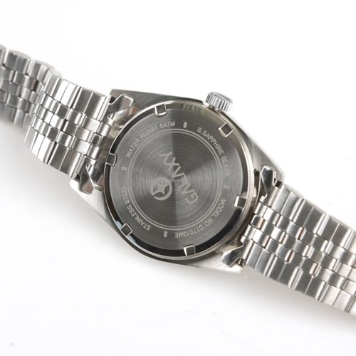 갤럭시 5기압 커플시계 남자 메탈손목시계 QT7013MA