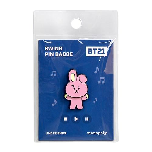 [BT21] 스윙 핀뱃지_(922306)
