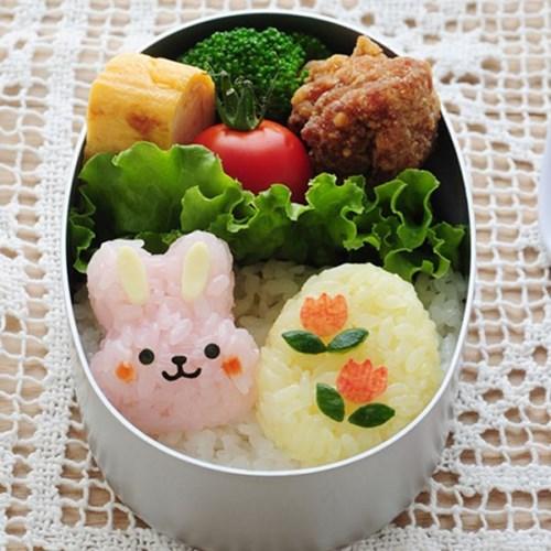 토끼&병아리 주먹밥만들기 미니 주먹밥틀 김펀치