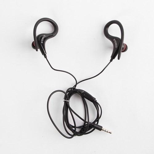 스포츠 스테레오 귀걸이형 이어폰 / 유선이어폰