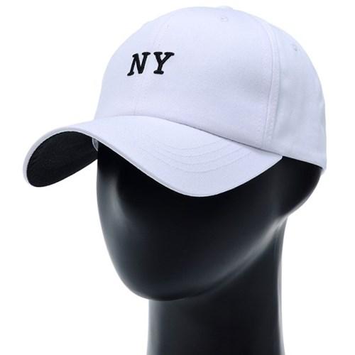 [플릭앤플록]ICC33.NY 배색챙 빅사이즈 볼캡 야구모자