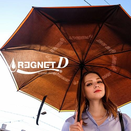 레그넷 D. 친환경 소재 사용한 자동 접힘 거꾸로 우산_(1314890)