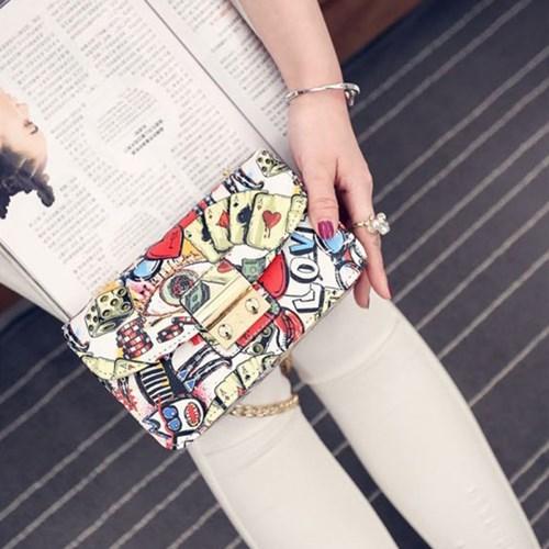여성 가방 하크다스-체인숄더백 핸드백