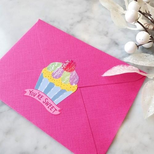 핑크페블 생일카드