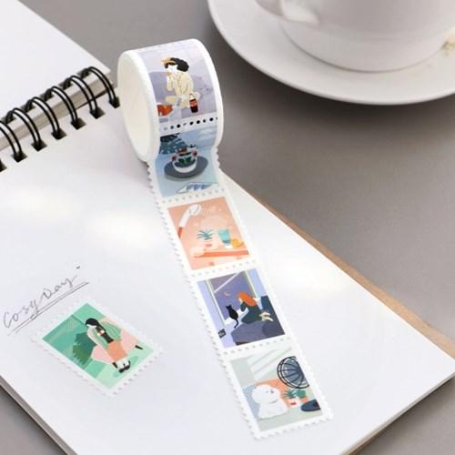 아이코닉 우표 마스킹테이프 데일리