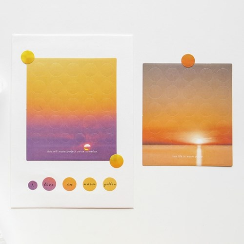 [cardlover] Above the clouds STICKER 6종