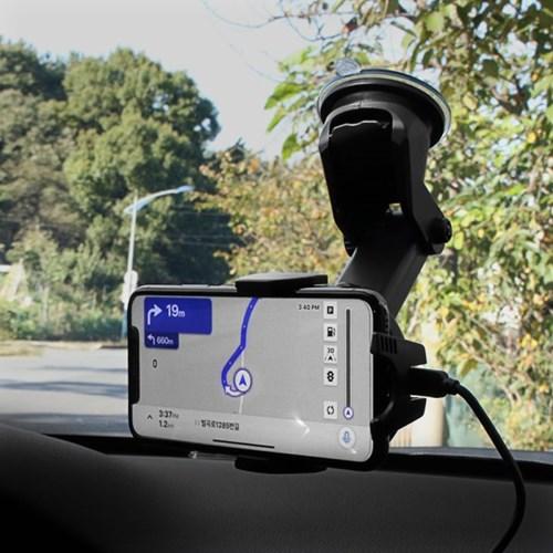 세비즈 초고속 차량용 스마트폰 무선충전기 CR3