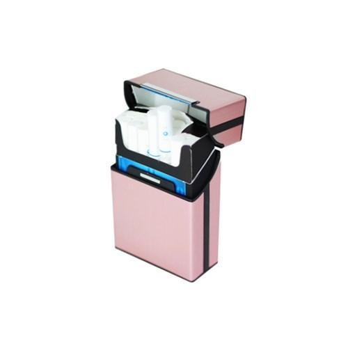 메탈 슬림 담배케이스 파우치 반자동 원터치