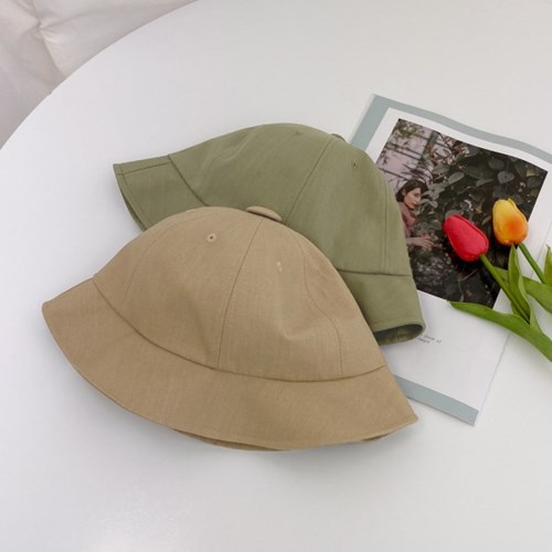BIG단추 벙거지 버킷햇 모자