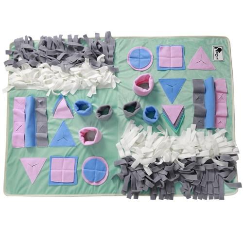 미씽유 강아지 노즈워크 스너플매트 담요 장난감