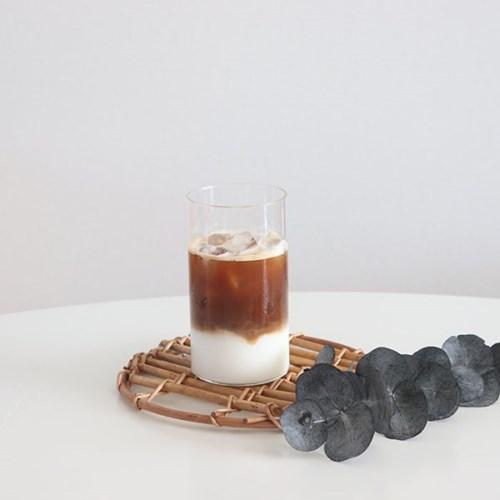 카페 심플 내열 유리컵 / 아이스 커피잔 / 물컵