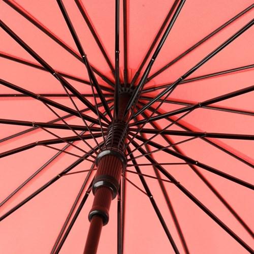 까르벵 16살대 네이처 우드 자동 장우산