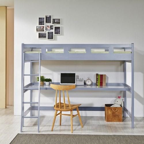 SE0등급 소나무원목 코스모 벙커형 책상이층침대 싱글