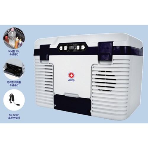 알프스 냉온장고 AL-9200 가정용 차량용 캠핑용 20L AL-9200