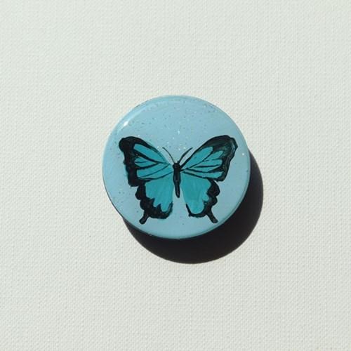 그려낸 나비 그립톡 스마트톡