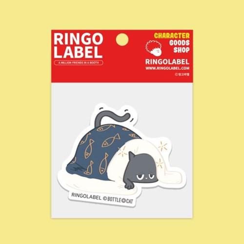 [링고라벨] 보틀캣 PVC 스티커팩 3pcs
