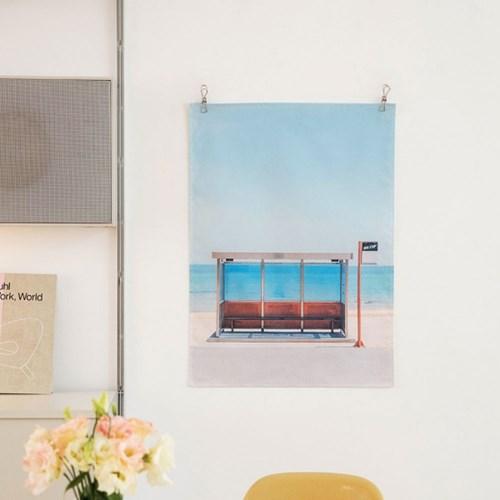 [마지막 재입고] HITCHHIKER  fabric poster _ 그 해 여름