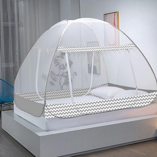 원터치 침대모기장 사각모기장