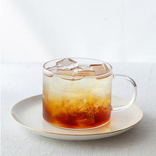 대용량 내열 유리 머그컵 550ml 빅 사이즈