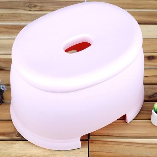 국산 플라스틱 미끄럼방지 욕실 의자 목욕 욕조 스툴_(877866)