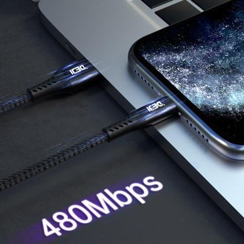 더지 DEJI 애플인증 mfi케이블 아이폰 아이패드 고속충전 케이블