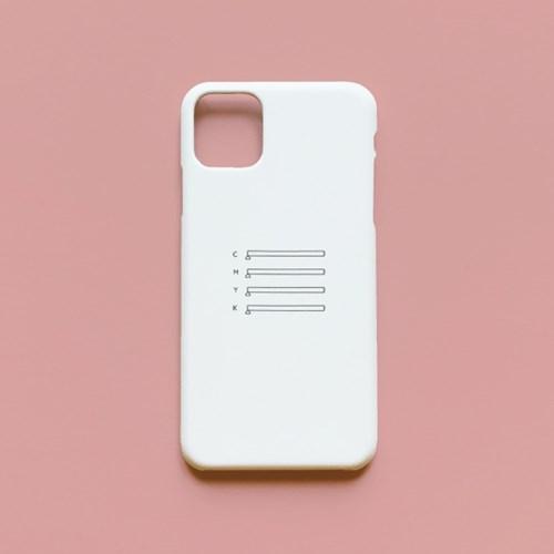 심플 레터링 하드 케이스 forNote 10,iPhone 11(주문제작)