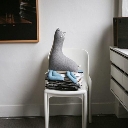 KALI, 남극 물개 멸종위기동물 홈데코 인형 35x43cm_(1878878)