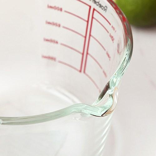 내열유리 손잡이계량컵 - 내열유리 믹싱볼
