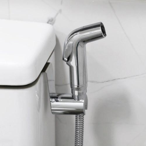물쎈 변기 샤워기 욕실 청소건 세트(스틸호스타입)